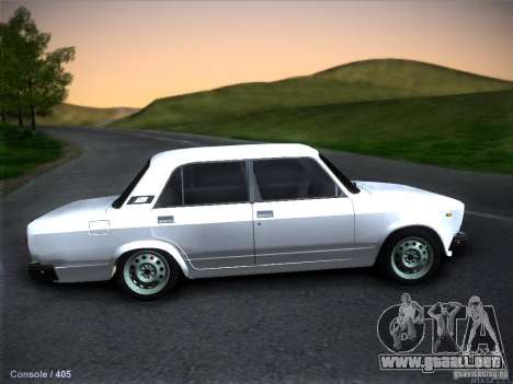 Vaz 2105 stock calidad para GTA San Andreas left