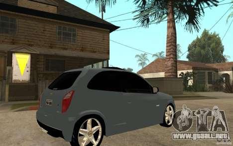 Chevrolet Celta VHC 2011 para la visión correcta GTA San Andreas
