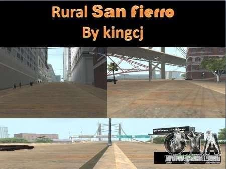 Carreteras en San Fejro para GTA San Andreas