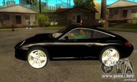 Porsche 911 Targa 4 para GTA San Andreas left