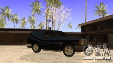 Sandking EX V8 Turbo para GTA San Andreas left