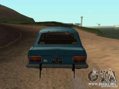 2125 IZH v2 para la visión correcta GTA San Andreas