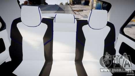GAZ-3110 Turbo WRX STI v1.0 para GTA 4 vista hacia atrás