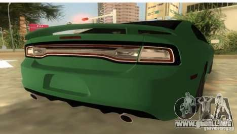Dodge Charger para GTA Vice City left