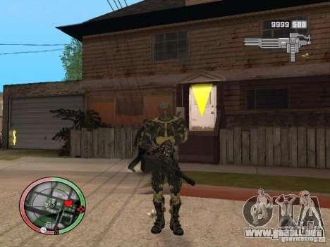 Colección de armas de Crysis 2 para GTA San Andreas