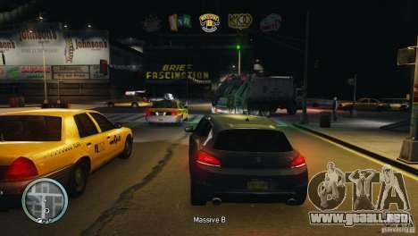Coloured Radio HUD para GTA 4 adelante de pantalla