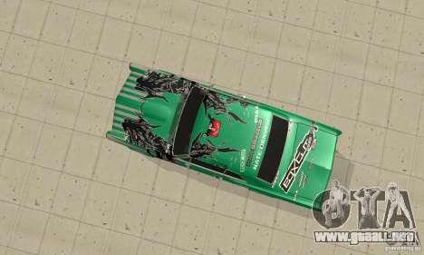 Pontiac GTO 1965 Speed King-NFS Pro Street para visión interna GTA San Andreas