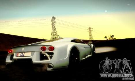 Noble M600 Final para la vista superior GTA San Andreas