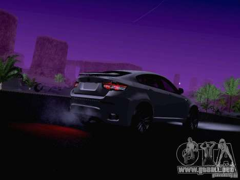 BMW X6 LT para vista inferior GTA San Andreas