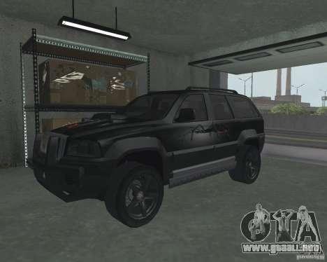 SUV de NFS para GTA San Andreas left