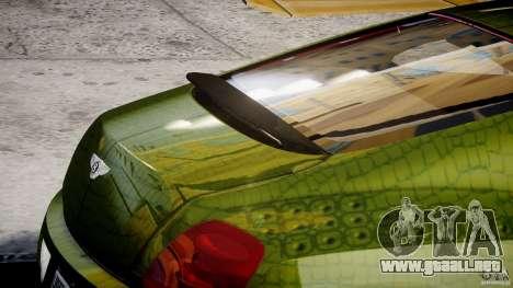 Bentley Continental SS 2010 Suitcase Croco [EPM] para GTA 4 interior