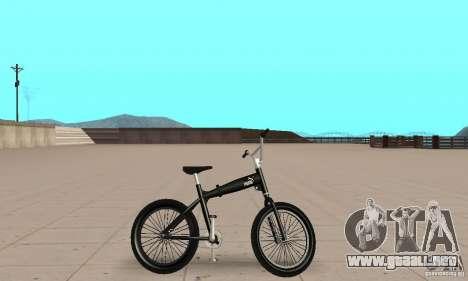 Puma MT Bike para GTA San Andreas vista posterior izquierda