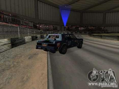 GreenWood Racer para vista lateral GTA San Andreas