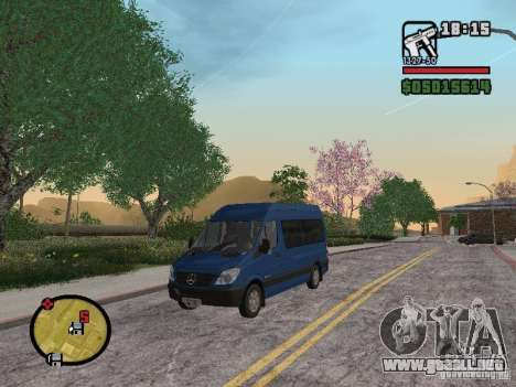 Mercedes-Benz Sprinter 2500 High Roof Passenger para GTA San Andreas