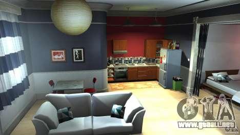 Retextured Lopez Apartment para GTA 4 segundos de pantalla