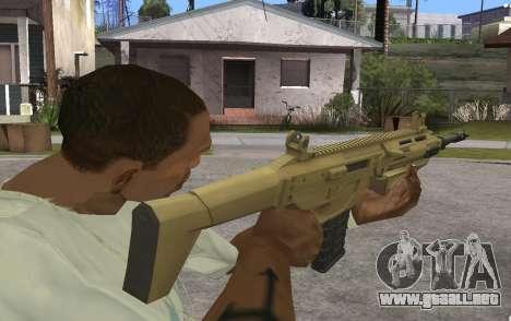 MSBS Radon para GTA San Andreas segunda pantalla