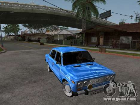VAZ 2106 Retro V2 para visión interna GTA San Andreas