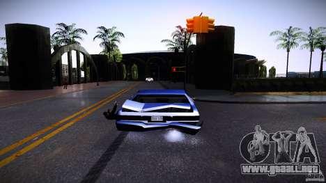 Los peatones se aferran para auto para GTA San Andreas sucesivamente de pantalla