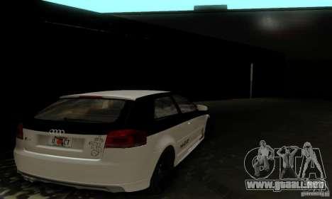 Audi S3 para el motor de GTA San Andreas