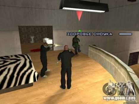 Doble V 4.0 para GTA San Andreas sucesivamente de pantalla