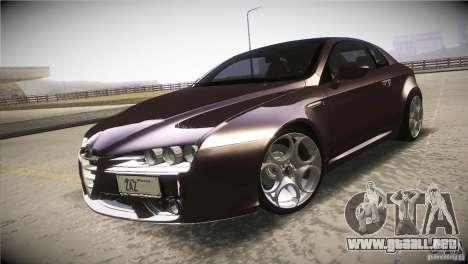 Alfa Romeo Brera Ti para vista lateral GTA San Andreas