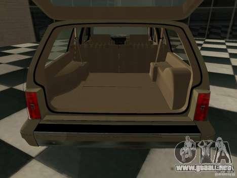Oldsmobile Cutlass Cruiser 1993 para la visión correcta GTA San Andreas