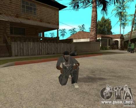 Pak armas de Fallout New Vegas para GTA San Andreas séptima pantalla
