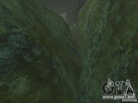 Texturas HD del fondo marino para GTA San Andreas segunda pantalla