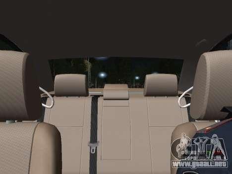 Toyota Avensis DPS para la vista superior GTA San Andreas