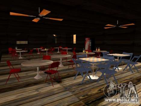 Nuevo Beach bar Verona para GTA San Andreas quinta pantalla
