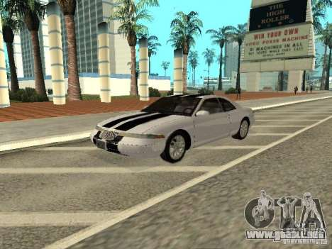 Lincoln Mark VIII 1996 para la vista superior GTA San Andreas