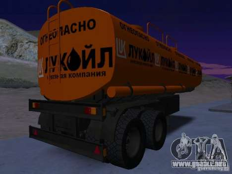 Tanque Lukoil para GTA San Andreas