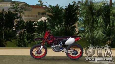 Yamaha v.2 para GTA Vice City left