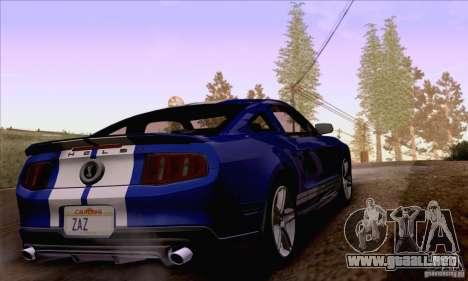 SA_nGine v1.0 para GTA San Andreas novena de pantalla