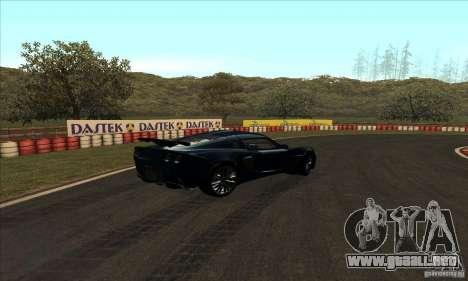 GOKART pista ruta 2 para GTA San Andreas octavo de pantalla