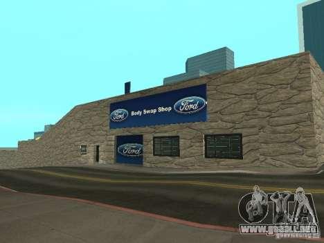 Ford Auto Show para GTA San Andreas