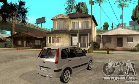 Ford Fusion 2009 para la visión correcta GTA San Andreas