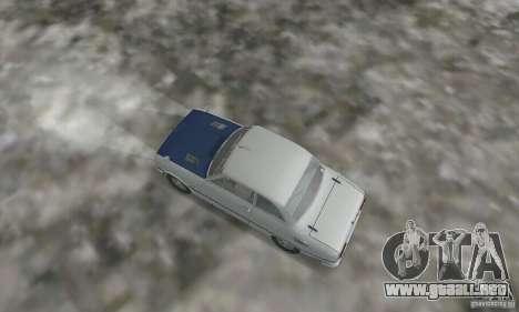 Isuzu Bellett GT-R para GTA San Andreas vista posterior izquierda