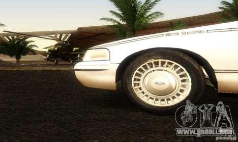 Ford Crown Victoria Ohio Police para la visión correcta GTA San Andreas