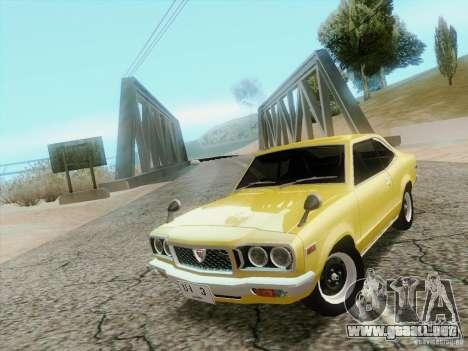 Mazda Savanna RX3 para la visión correcta GTA San Andreas