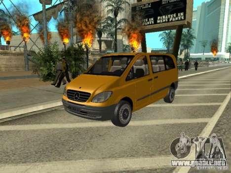 Mercedes-Benz Vito 2003 para GTA San Andreas