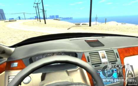Cadillac DTS v 2.0 para GTA 4 vista lateral