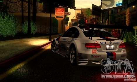 SA_gline 4.0 para GTA San Andreas sexta pantalla