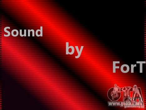 Weapon sound by ForT para GTA San Andreas
