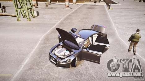 Audi A6 v1.0 para GTA 4 vista interior
