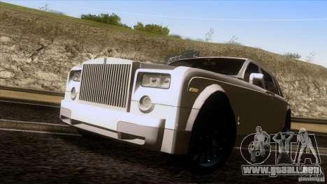 Rolls Royce Phantom Hamann para la visión correcta GTA San Andreas