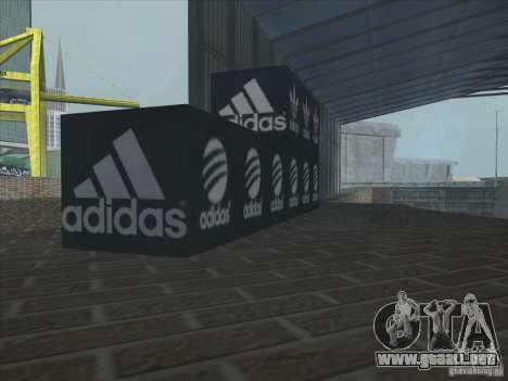 Adidas nuevo para GTA San Andreas sexta pantalla
