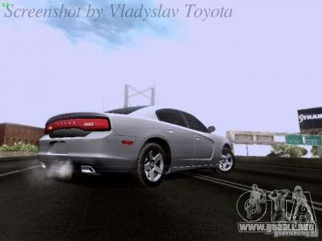 Dodge Charger 2013 para visión interna GTA San Andreas