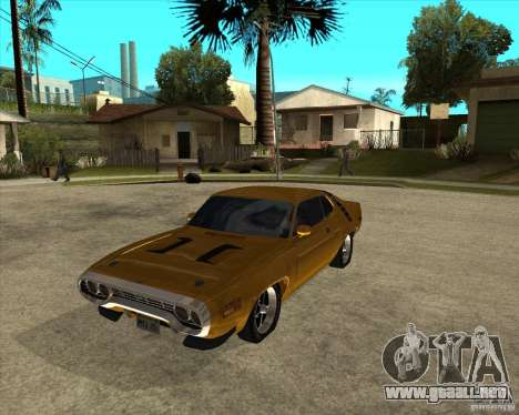 1971 Plymouth Roadrunner 440 para GTA San Andreas