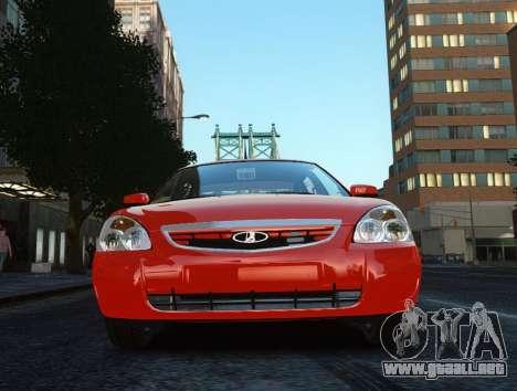 VAZ 2170 Lada Priora para GTA 4 vista hacia atrás